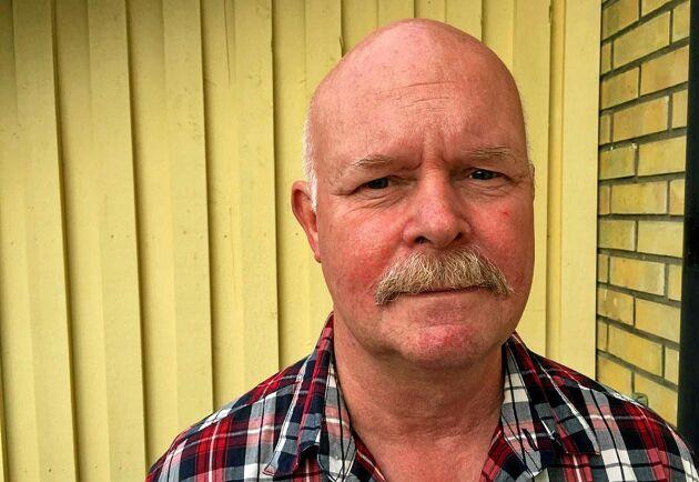 Håkan Andersson är en av många som har fått lämna sitt hus i Härjedalen på grund av branden.