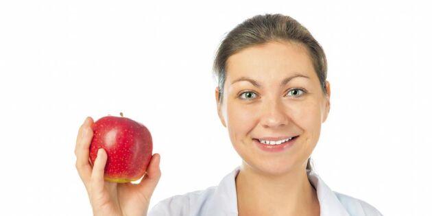 5 hälsovinster med att äta äpplen!