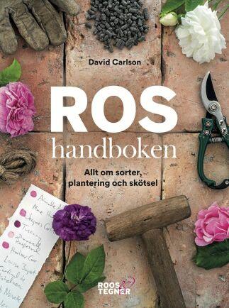 Roshandboken – allt om sorter, plantering och skötsel är skriven av David Carlson och är utgiven på Roos & Tegnér förlag.
