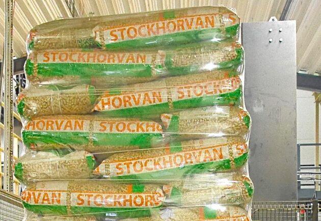 Fabriken i Stockhorvan har börjat producera pellets igen.