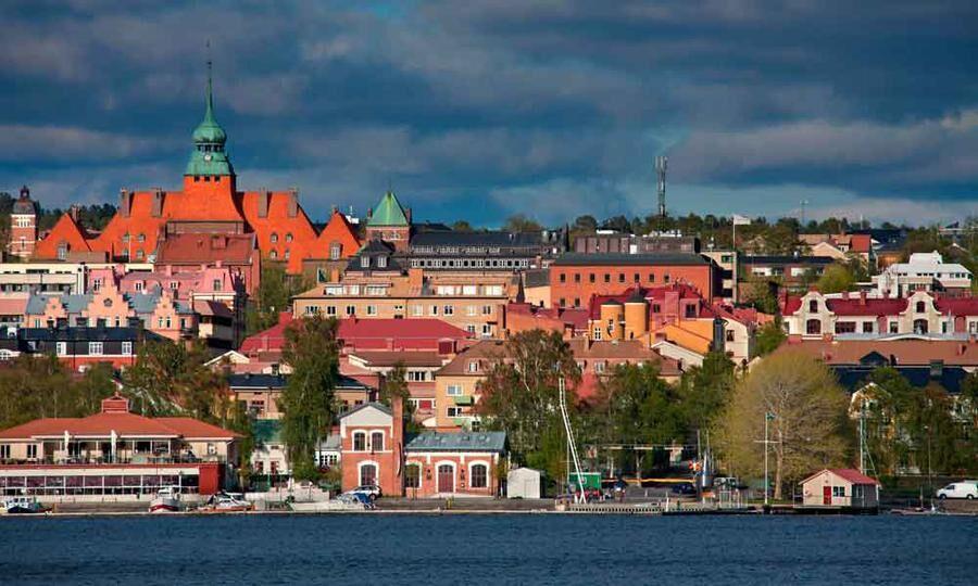 Vy över Östersund.