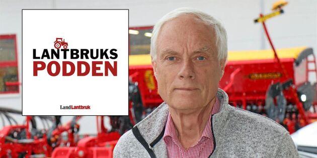 """Väderstads Crister Stark i Lantbrukspodden: """"Har jobbat för bönder hela mitt liv"""""""