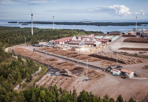 Södras sågverk i Mönsterås.
