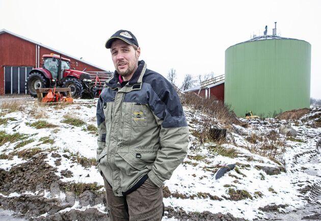 Andreas Markusson anser att klimatförändringen är en ödesfråga som kräver att man gör det man kan för att minska utsläppen av växthusgaser.