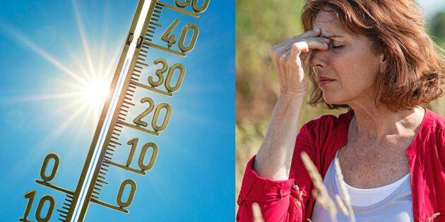 7 tecken på värmeslag– du kan behöva agera snabbt!