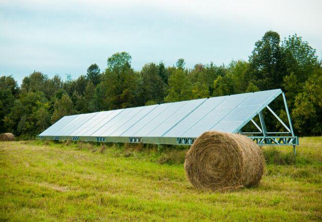 Totalt finns det drygt 25 000 nätanslutna solcellsanläggningar i Sverige. Arkivbild.