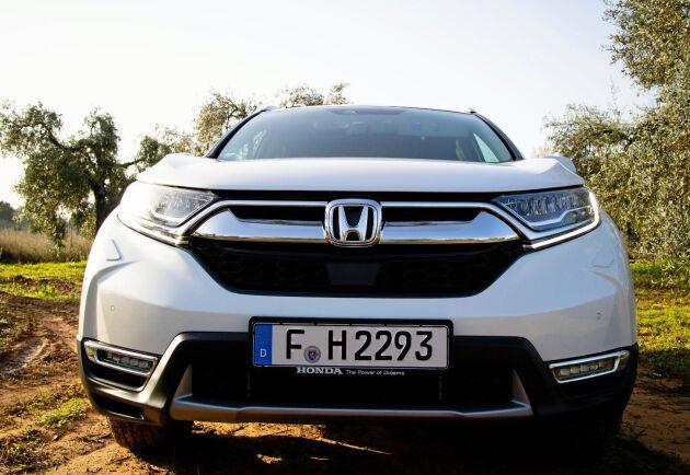 Honda CR-V är en elhybrid.