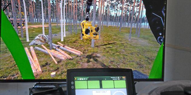 Vuxna ska utbildas till maskinförare i skogen