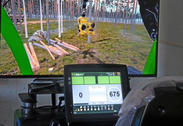 Stora Segerstad naturbrukscentrum är en skola med den absolut senaste skogstekniken.