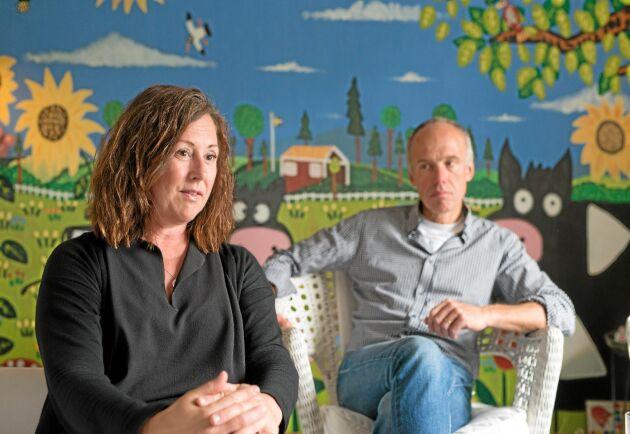 Annika Hübbinette Sundström och Robert Sundström driver och äger tillsammans företaget Blåbergen som har flera olika inriktningar.