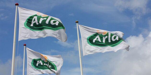 Arlas mjölkpris ligger fast i Finland