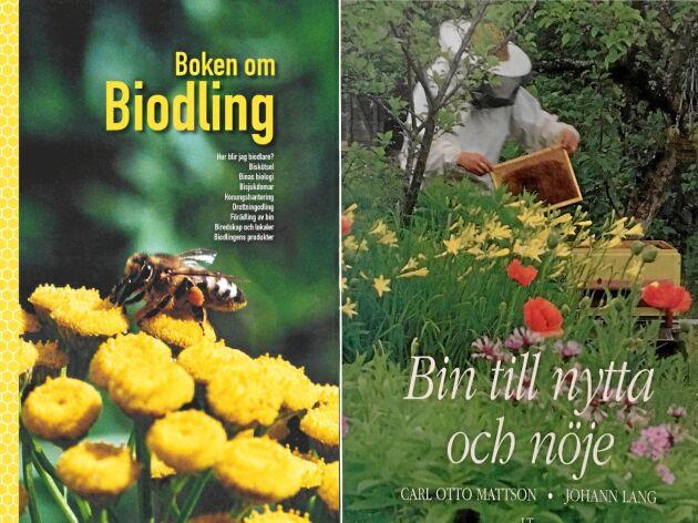 Två bra grundböcker om biodling.