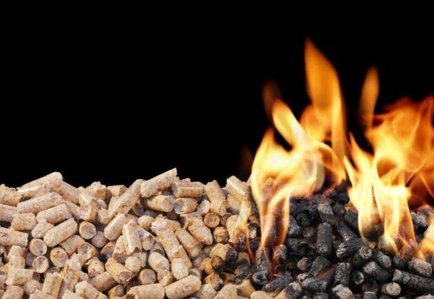 Via Klimatklivet får bland annat Lantmännen stöd för konvertering till pellets.