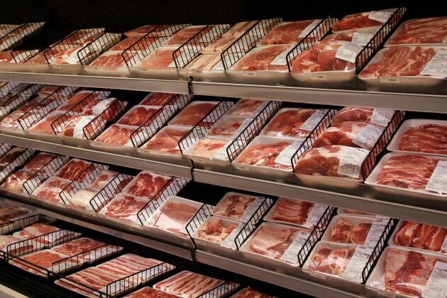Priset på svenskt griskött rusar just nu.