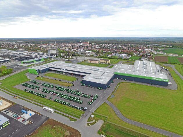 Deutz-Fahr traktorfabrik i tyska Lauingen.