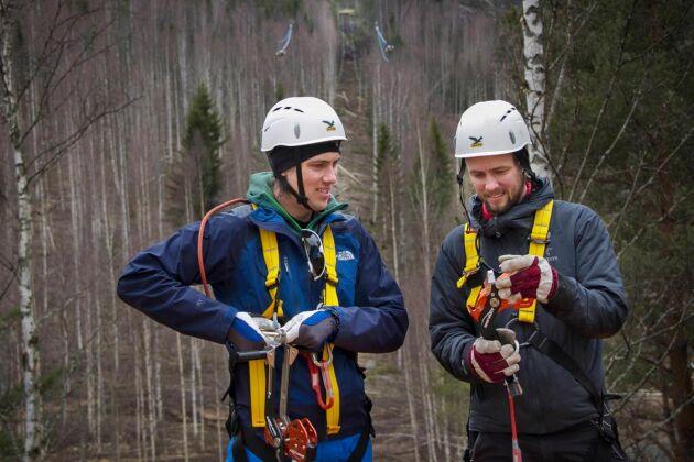 Äventyr och friluftsliv är viktigt för Dennis och Anders Malmberg.