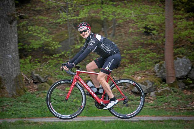 Tommy Jeansson har cyklat Vätterrundan 21 gånger.