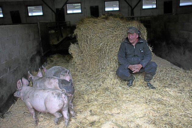 Tar hand om medarbetarna. Jörgen Bergström är en värdefull resurs för Edsbergs gård.