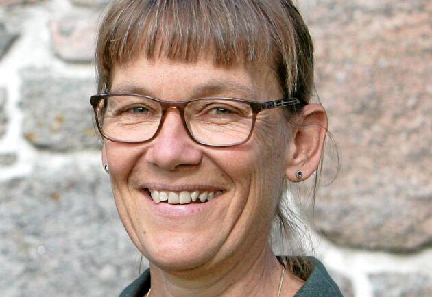 Katarina Gustafsson, djurhälsoveterinär Får på Gård & Djurhälsan.