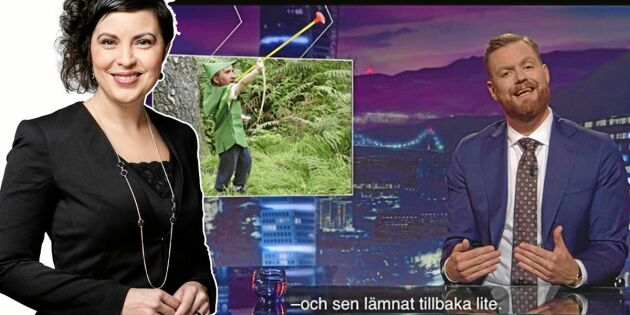 Krönika: Grattis SVT – ni gjorde mig nästan mållös