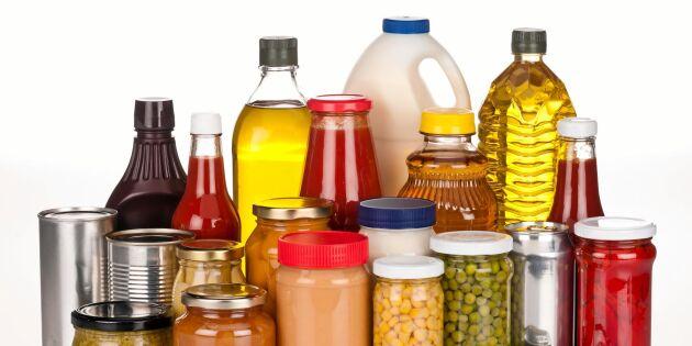 LISTA: Bunkra mat – här är varorna du ska ha hemma vid en krissituation