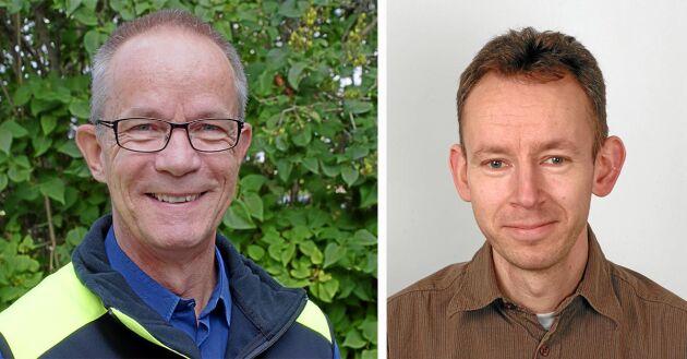 Hasse Bengtsson, Skogsstyrelsen, och Erik Norgren, Naturvårdsverket.