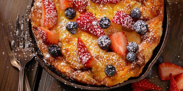 Pulled pancake – pannkaka på nytt sätt