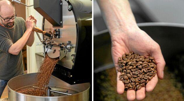 Rent och elegant. Så ska ett bra kaffe smaka. Daniel är noga med hanteringen in i minsta detalj. Hans nyrostade kaffebönor är av högsta kvalitet.