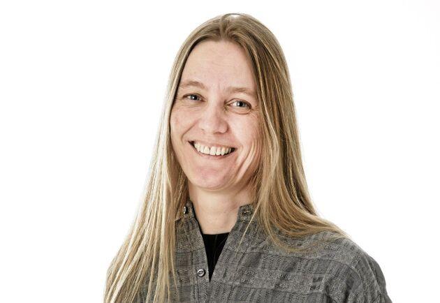 Karin Johansson är frilansskribent och redaktör i Östersund och kommer att skriva ledare i några nummer av Land Skogsbruk under hösten.
