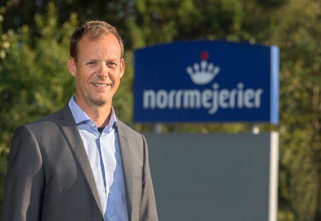 """Norrmejeriers VD Anders Fredriksson: """"Affären ligger och väntar så vi vill agera så fort som möjligt""""."""