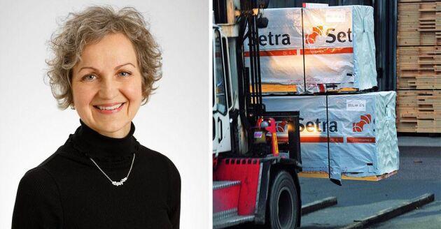 Hannele Arvonen, VD och koncernchef för Setra.