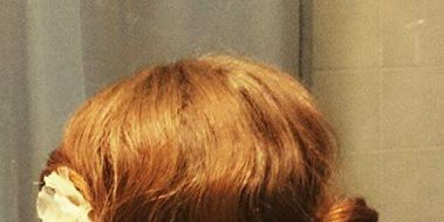 Skön bohemretro frisyr på ett ögonblick