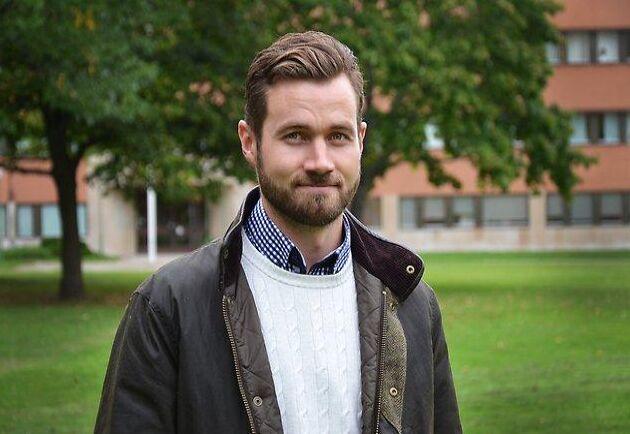 Emil Brangenfeldt, vilthandläggare på länsstyrelsen i Östergötland.