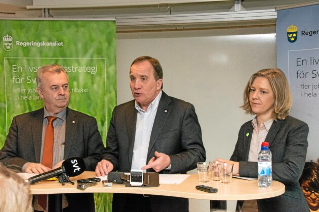 Landsbygdsminister Sven-Erik Bucht ingår i statsminister Stefan Löfvens delegation till Kina, vilket även miljöminister Karolina Skog gör. Här handlar det om livsmedelsstrategin.