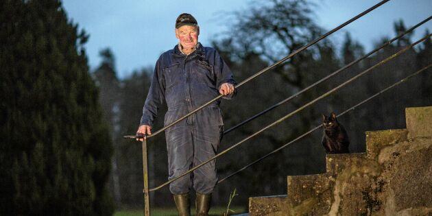 """Möt siste bonden i Äskemo: """"Vill visa att det går att leva på småbruk"""""""