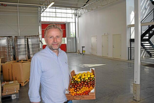 Mads Pedersen vill expandera tomatodlingen i Trelleborg.