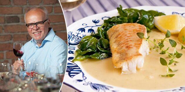 Håkans mat- och vintips: Halstrad gösfilé med ett glas vitt