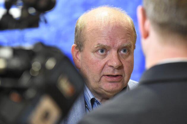 Eskil Erlandsson (C) anklagas för att upprepade gånger ha ofredat riksdagsledamöter sexuellt. Arkivbild.