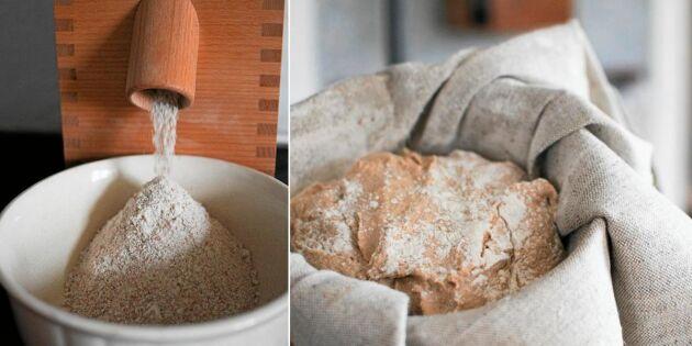 Gör ditt eget mjöl – så enkelt är det!
