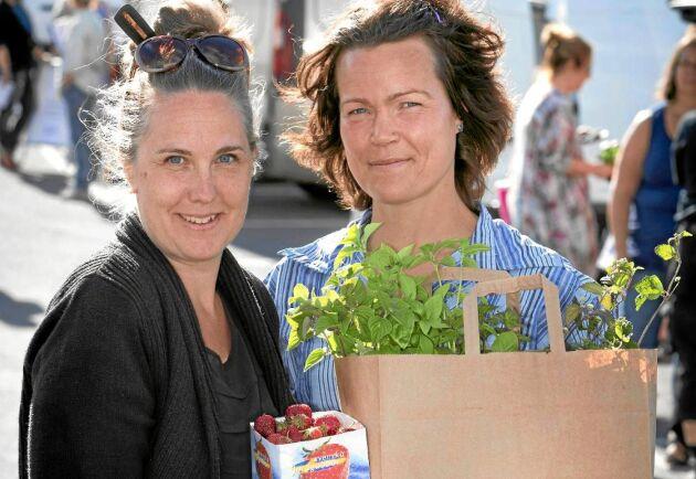 – Härligt att producenterna känner framtidstro, säger Victoria Svensson och Annika Gustafsson som står bakom framgångarna hos Sveriges största rekoring.