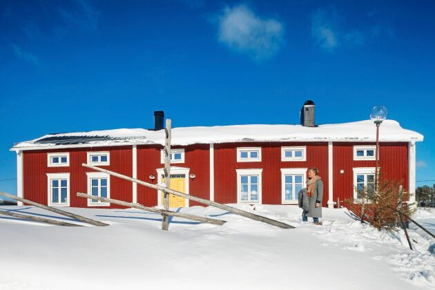Norrbottensgården från 1891 ser ut lite som ett träslott.