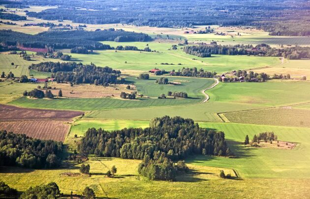 190000 hektar åkermark har bebyggts de senaste 25 åren.