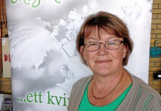 Aina Spets jobbar med Skogskvinnor i Jämtland.