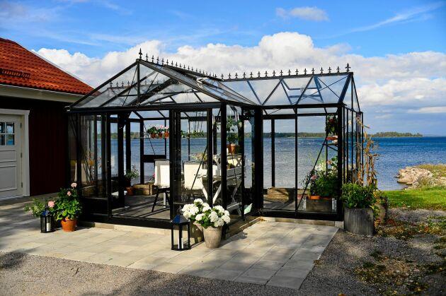 Växthus från Willab Garden med spännande vinklar.