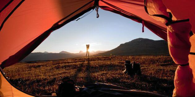 Så väljer du rätt tält – och tältplats!