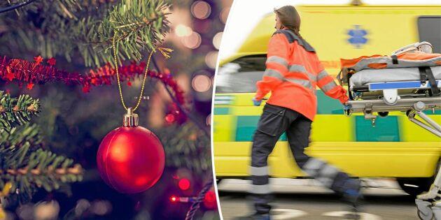 Hjärtinfarkterna ökar dramatiskt –på julafton