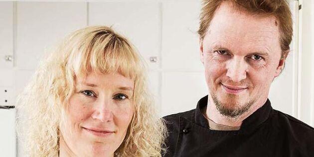 Maria och Patrik driver Sveriges minsta mejeri