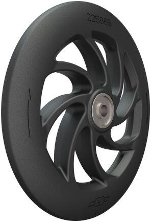 Prostop är ett nytt stopphjul från Väderstad. Klicka på pilarna för att se fler detaljbilder på hjulet.