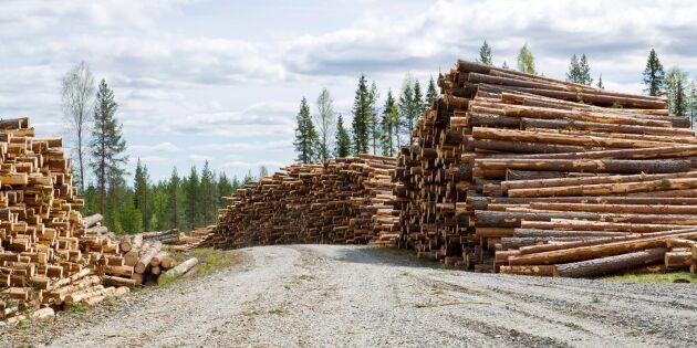 Skogsägare kräver bättre betalt