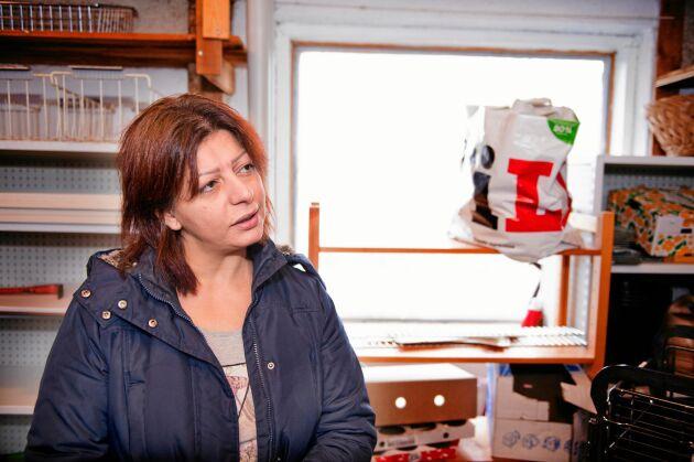 Reim jobbade som apotekare i Syrien och hennes man drev en liten livsmedelsbutik.